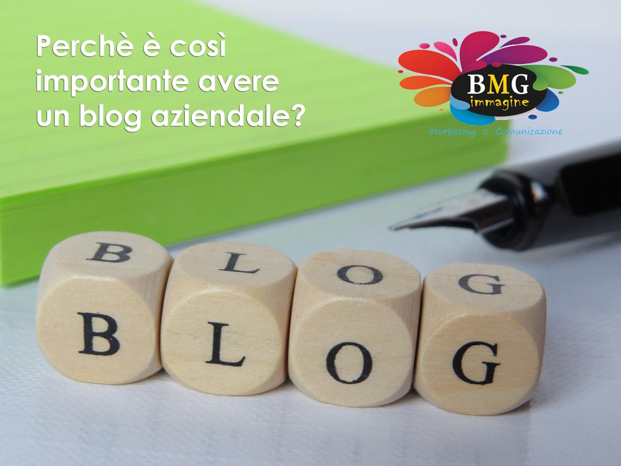 Perchè è così importante avere un blog aziendale?