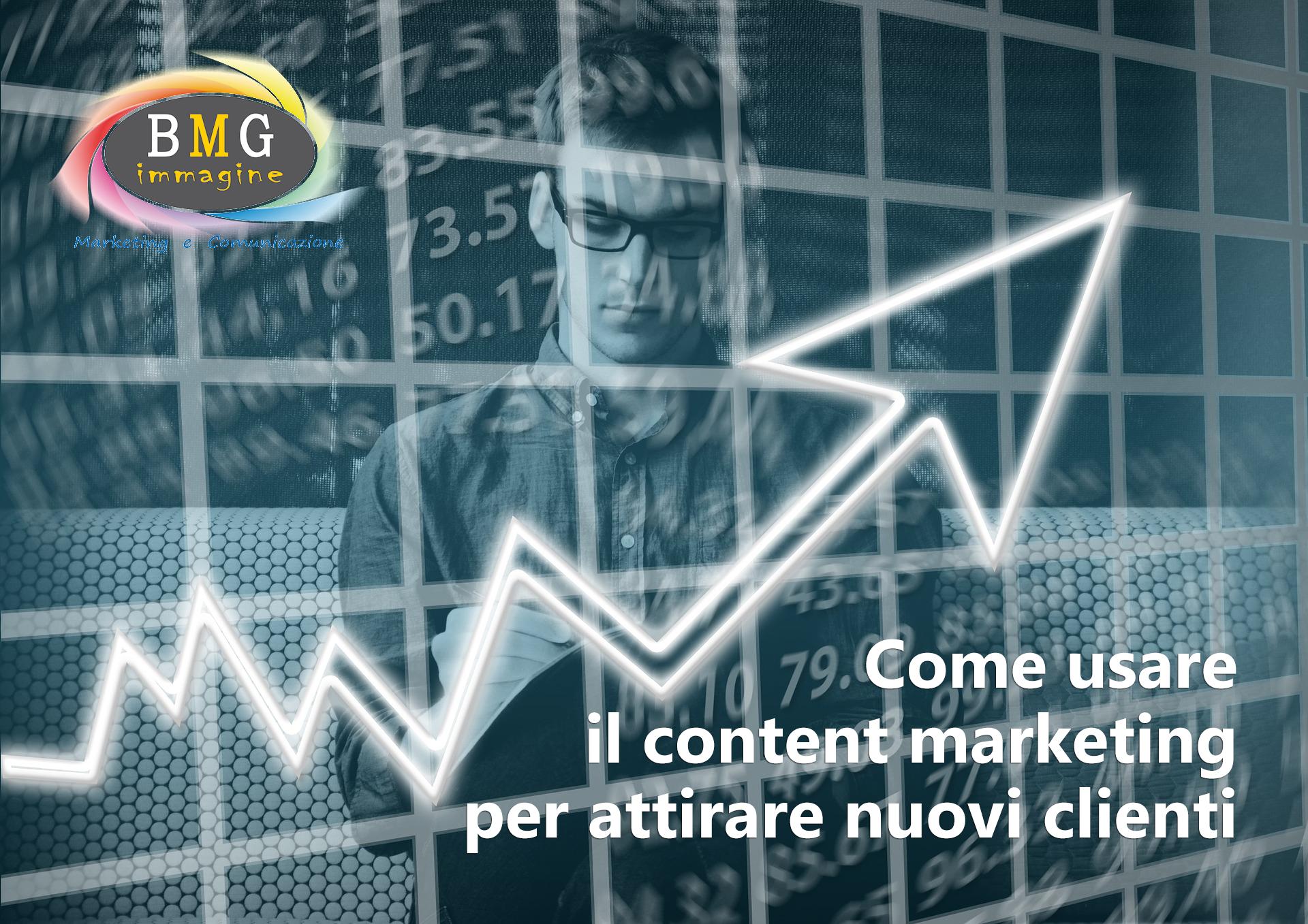 Come usare il content marketing per attrarre nuovi clienti