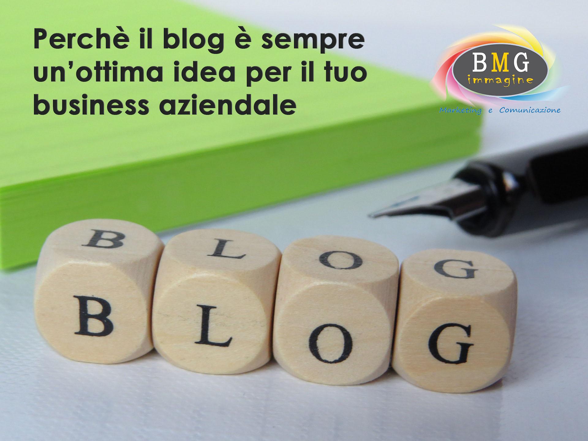 Perchè il blog è sempre una buona idea per il tuo business aziendale